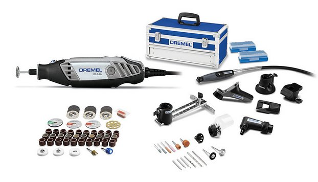 dremel 3000 8 64 ultimate kit 3000 variable speed rotary. Black Bedroom Furniture Sets. Home Design Ideas