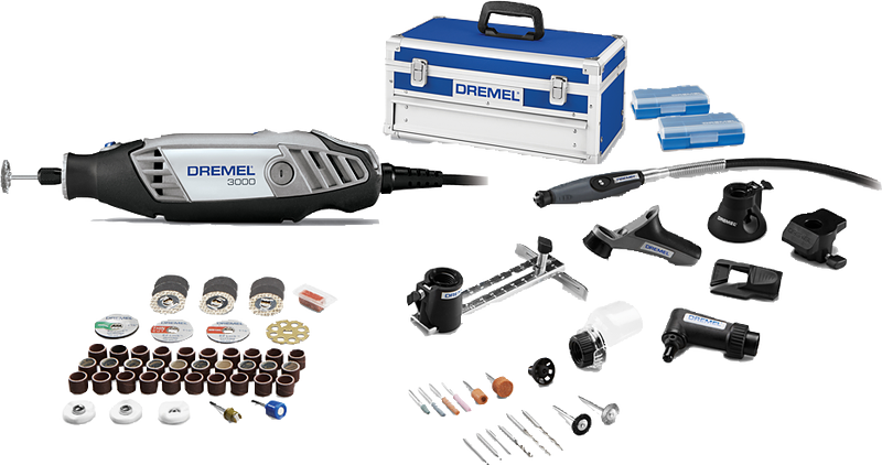 Dremel 3000 8/64 Ultimate Kit