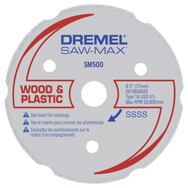 SM500 Wood & Plastic Carbide Wheel