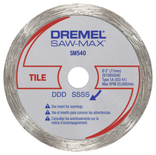 Dremel SM540 Tile Diamond Wheel 77m