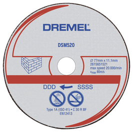 DSM520C-RW Carbide Cutting Wheel